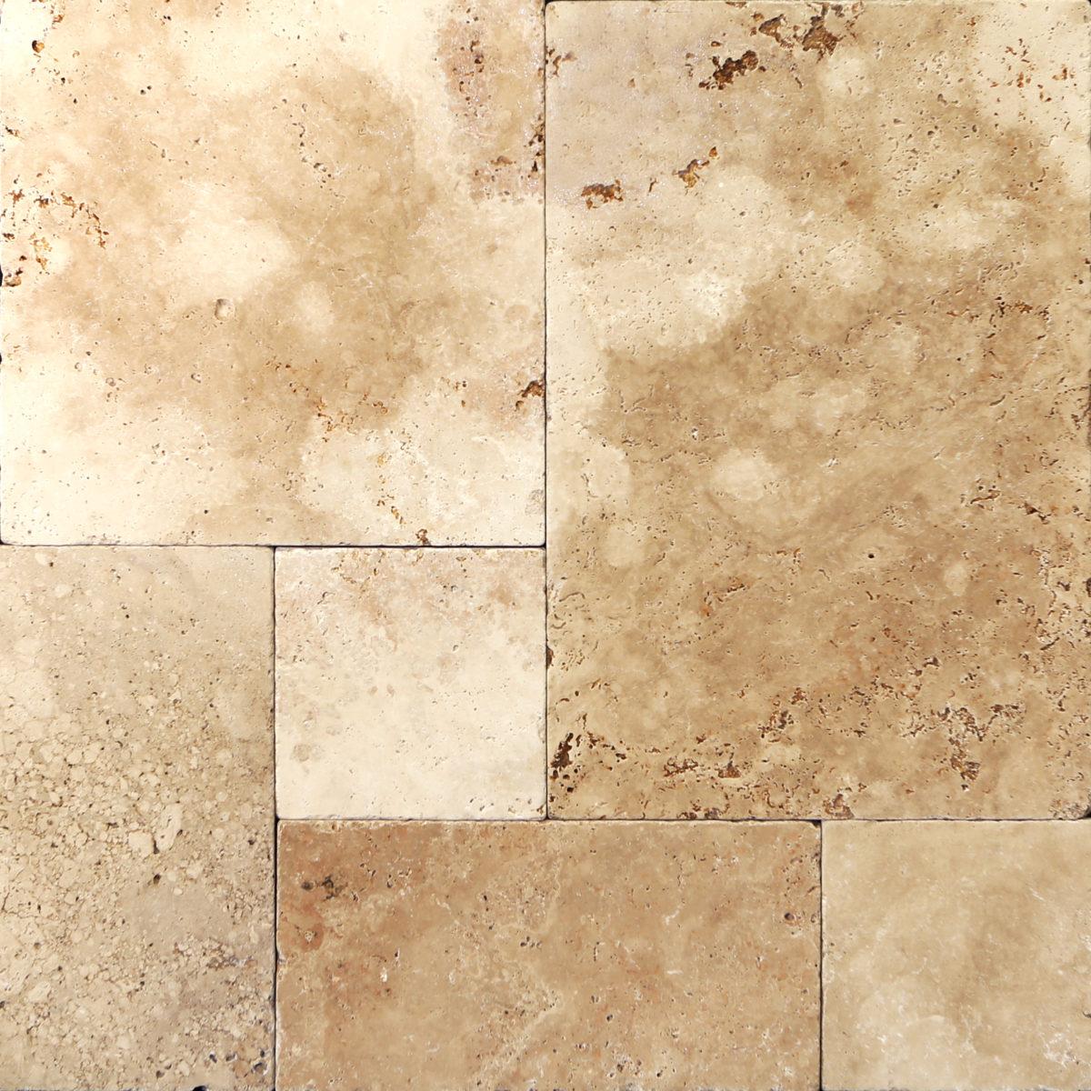 Travertine floor tile patterns