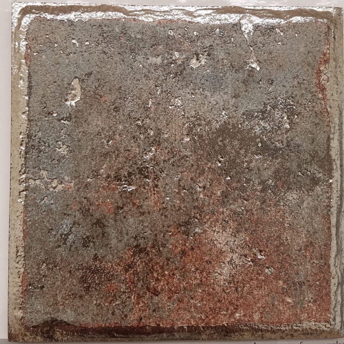 Metallic Pool Tile : Metallic silver porcelain pool tiles travertine