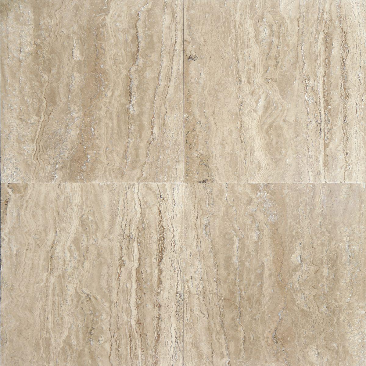 Patara Vein Cut Honed Travertine Tile Travertine And