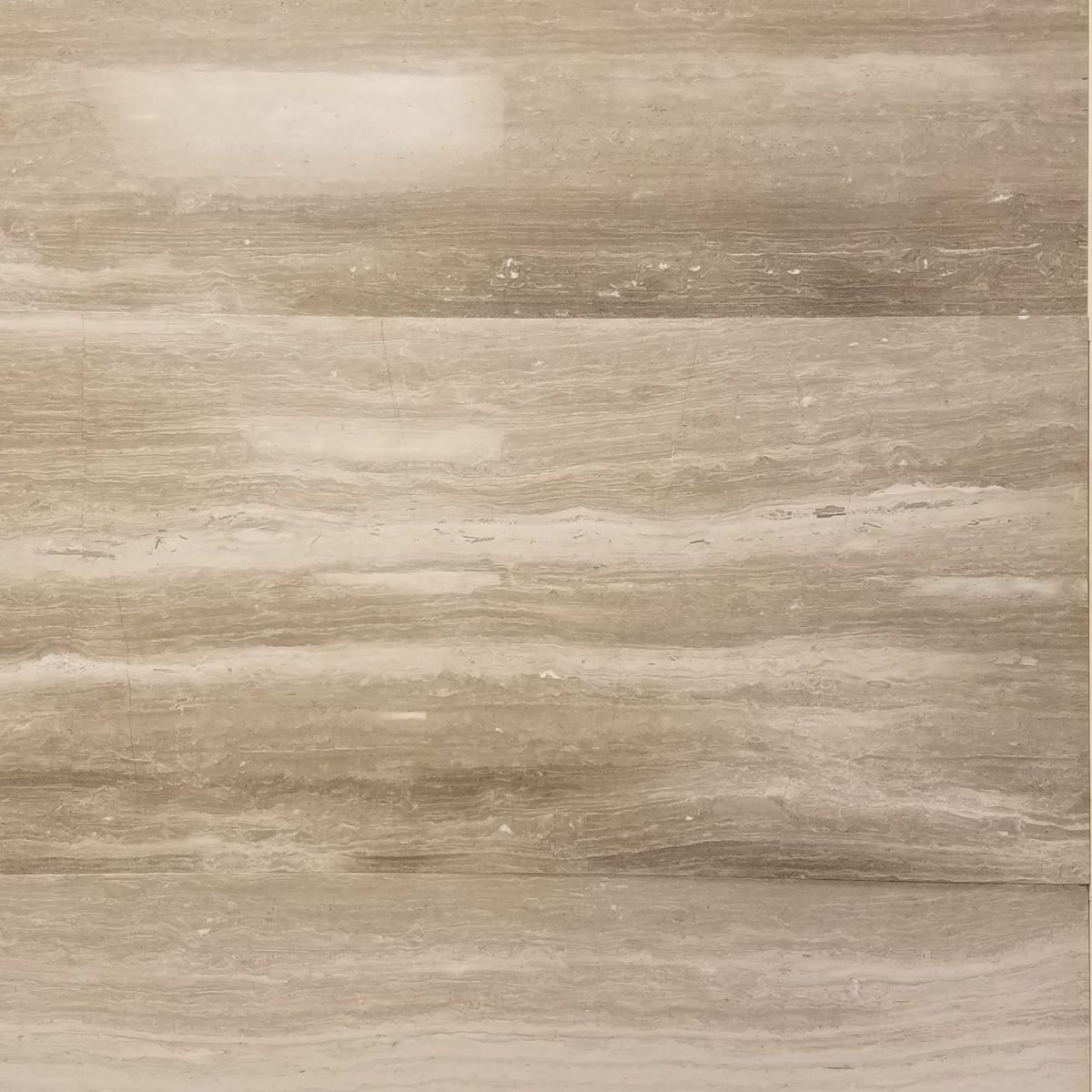 Wooden Gray Polished Marble Tile Travertine Pavers