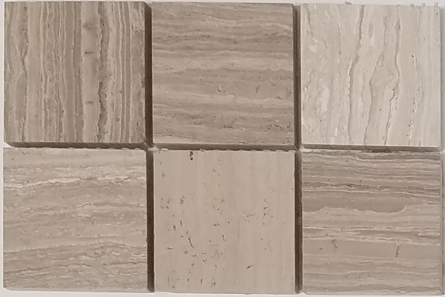 Wooden White 2 215 2 Marble Mosaics Travertine And Marble