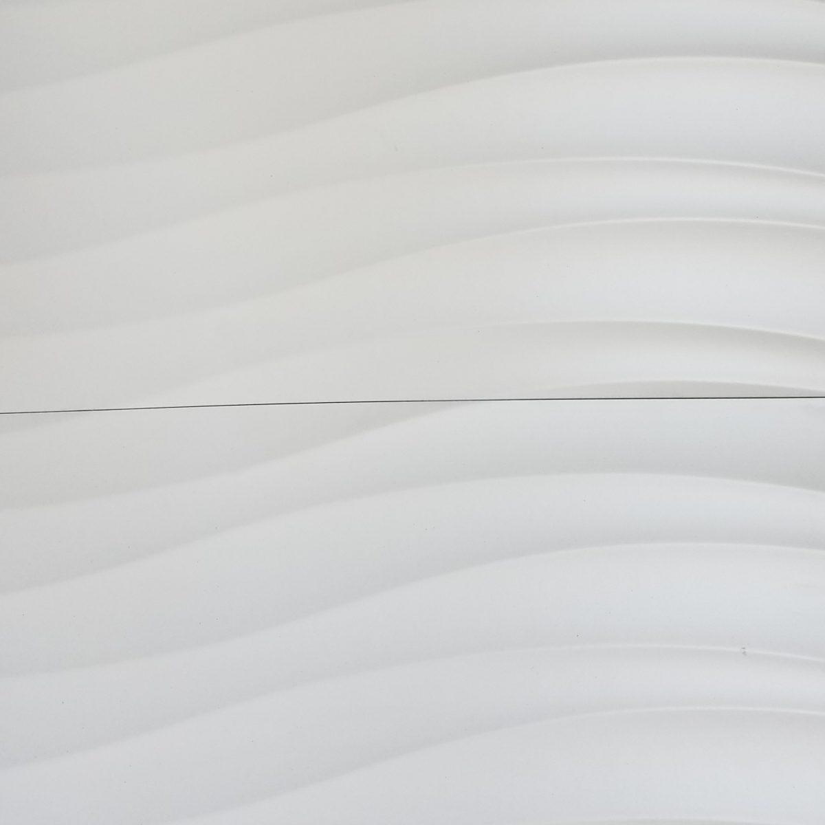 Modern Rectified Sea Wave Matte Porcelain Tile 12 215 24